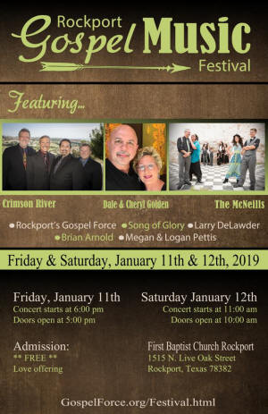 Rockport Gospel Force & Gospel Music Festival - Rockport, Texas